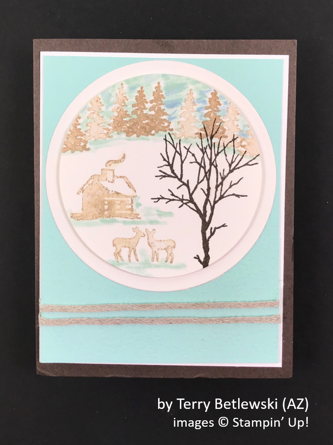 by Terry Betlewski, Brian's Holiday One-for-One Swap, Stampin' Up!