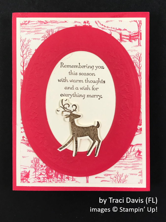 by Traci Davis, Brian's Holiday One-for-One Swap, Stampin' Up!