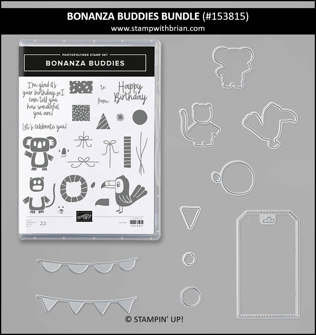 Bonanza Buddies Bundle, Stampin Up! 153815