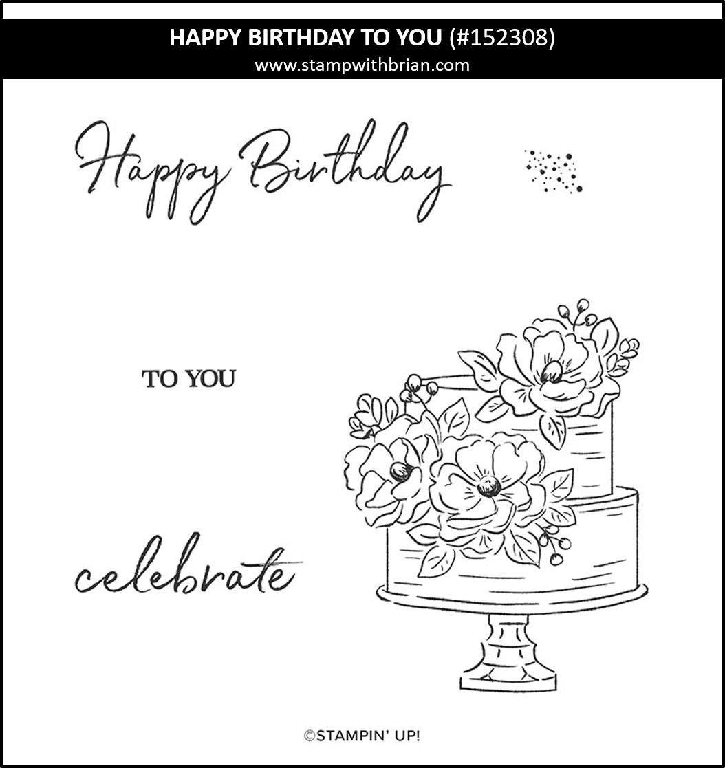 Happy Birthday to You, Stampin Up! Sale-a-Bration 152308