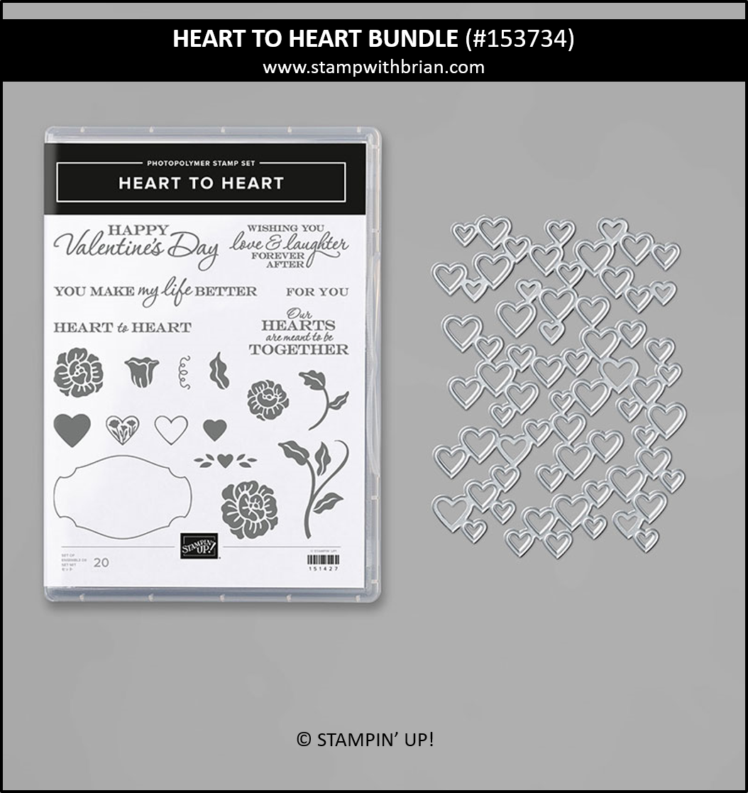 Heart to Heart Bundle, Stampin Up! 153734