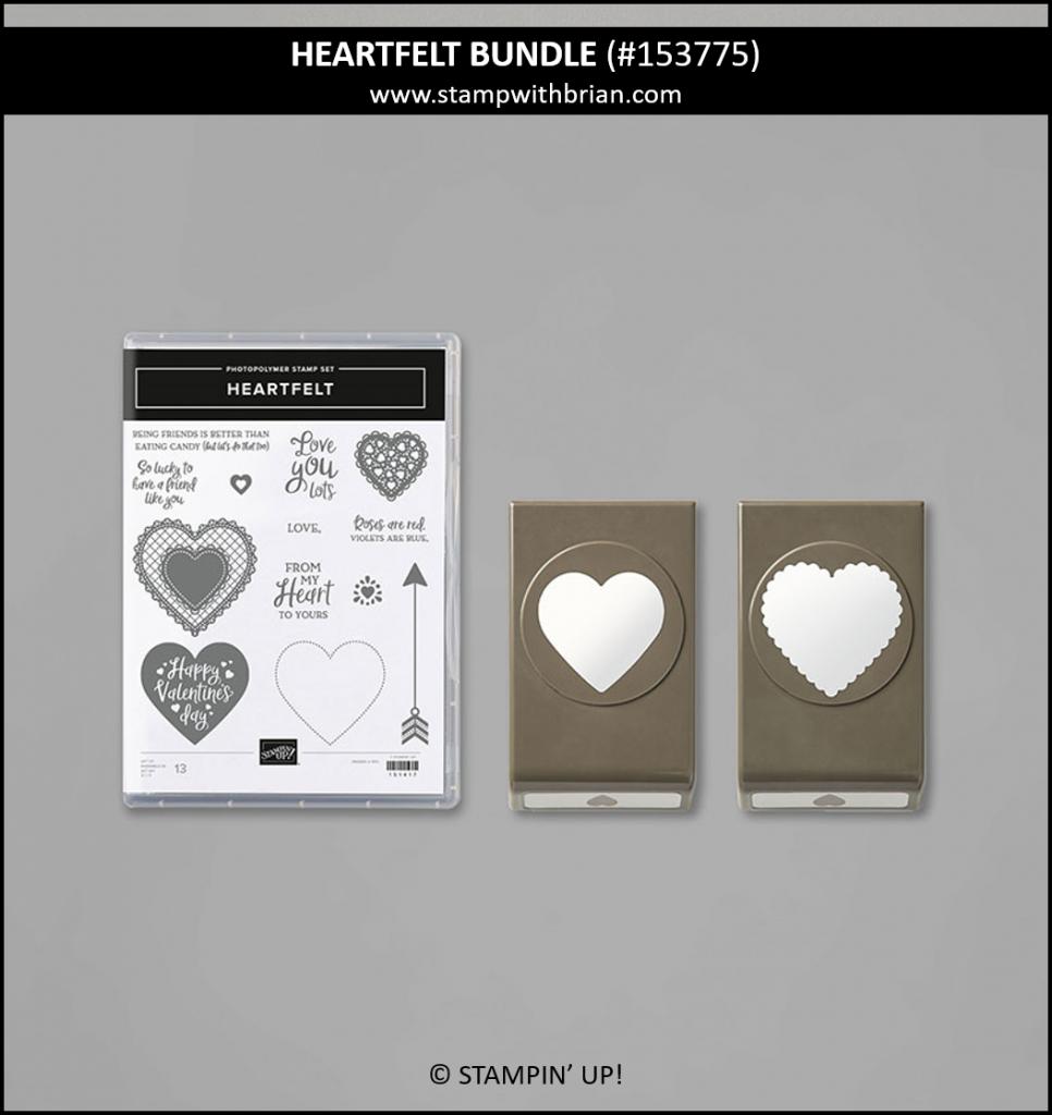 Heartfelt Bundle, Stampin Up! 153775