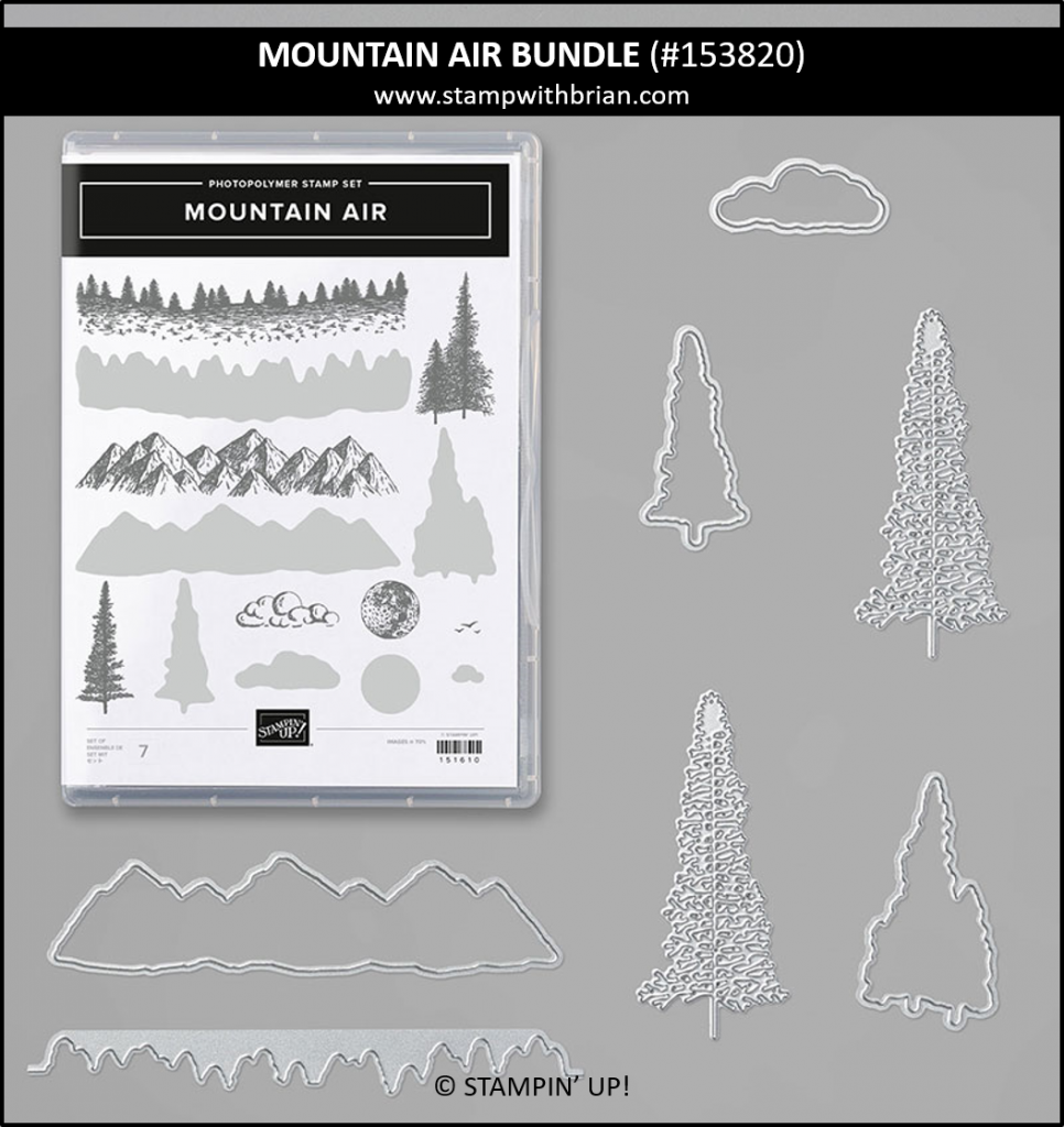 Mountain Air Bundle, Stampin Up! 153820
