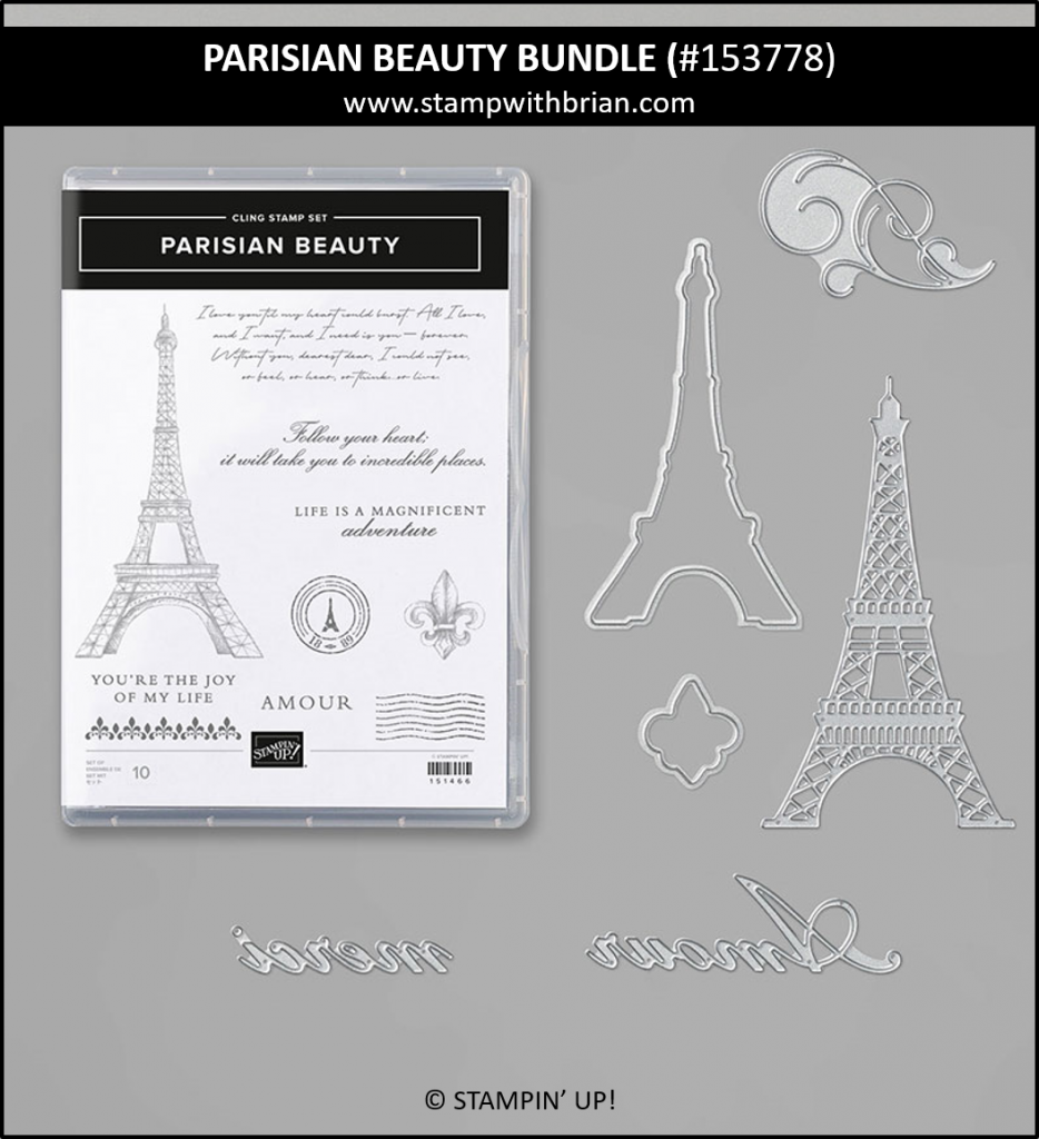 Parisian Beauty Bundle, Stampin' Up! 153778