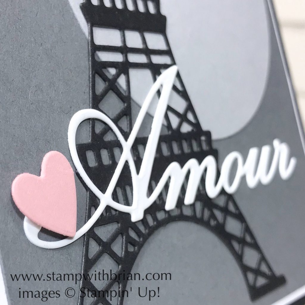 Parisian Dies, Parisian Beauty, Stampin' Up!, Brian King