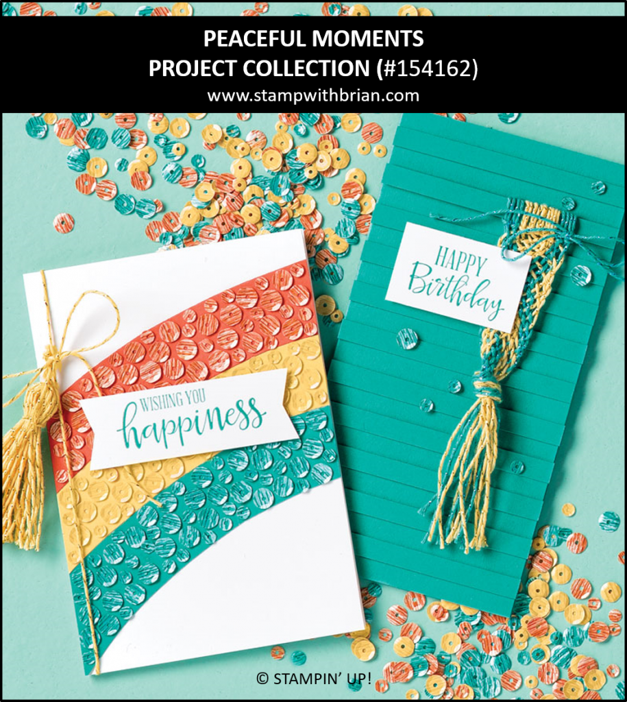 Peaceful Moments Project Collection, Stampin Up!, 154162