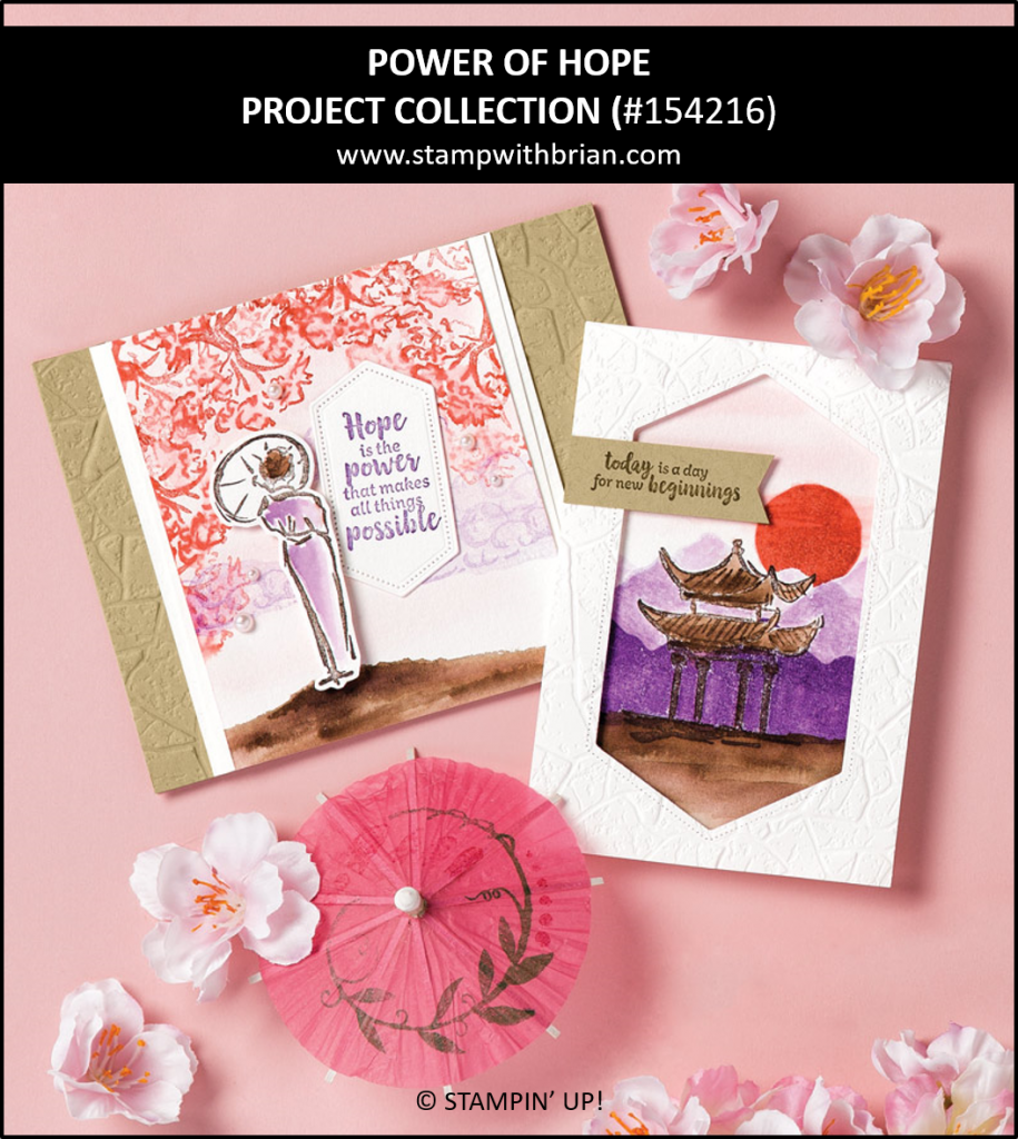 Power of Hope Project Collection, Stampin Up! 154216