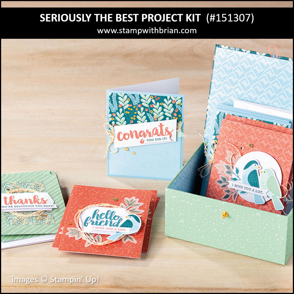 Seriously the Best Project Kit, Stampin' Up! 151307