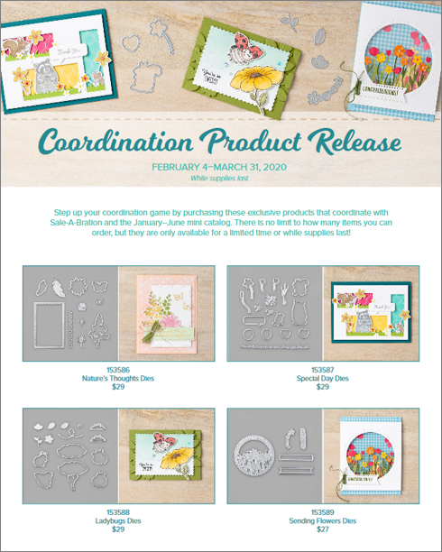 Stampin Up! Coordination Products stampwithbrian.com