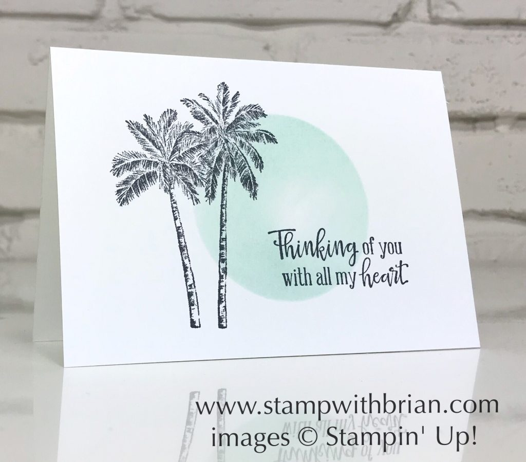Timeless Tropical, Peaceful Moments, Stampin Up!, Brian King