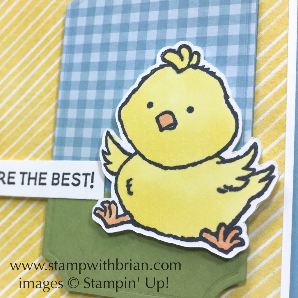 Welcome Easter, Thanks for the Laughs, Stampin Up!, Brian King