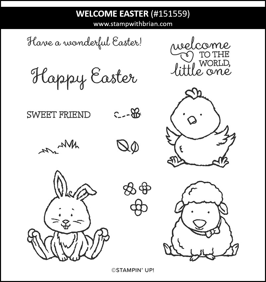 Welcome Spring, Stampin Up! 151559