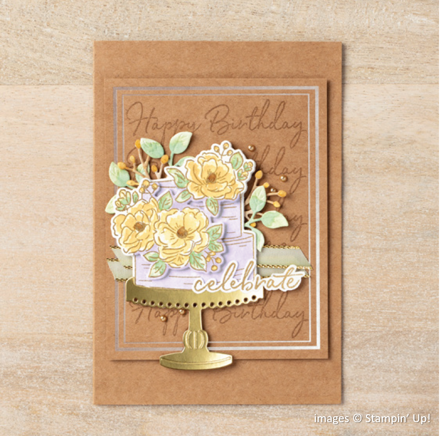 Happy Birthday to You, Birthday Dies, Stampin Up!