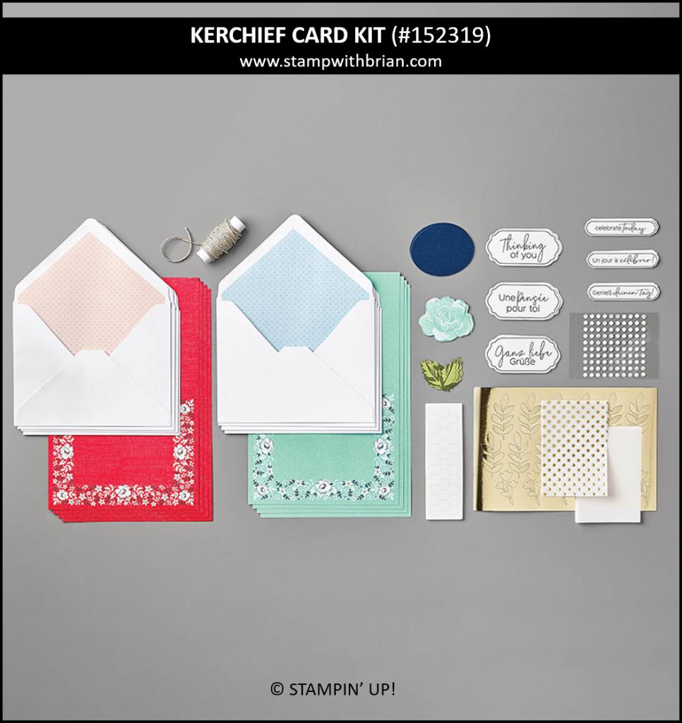Kerchief Card Kit, Stampin Up!, 152319