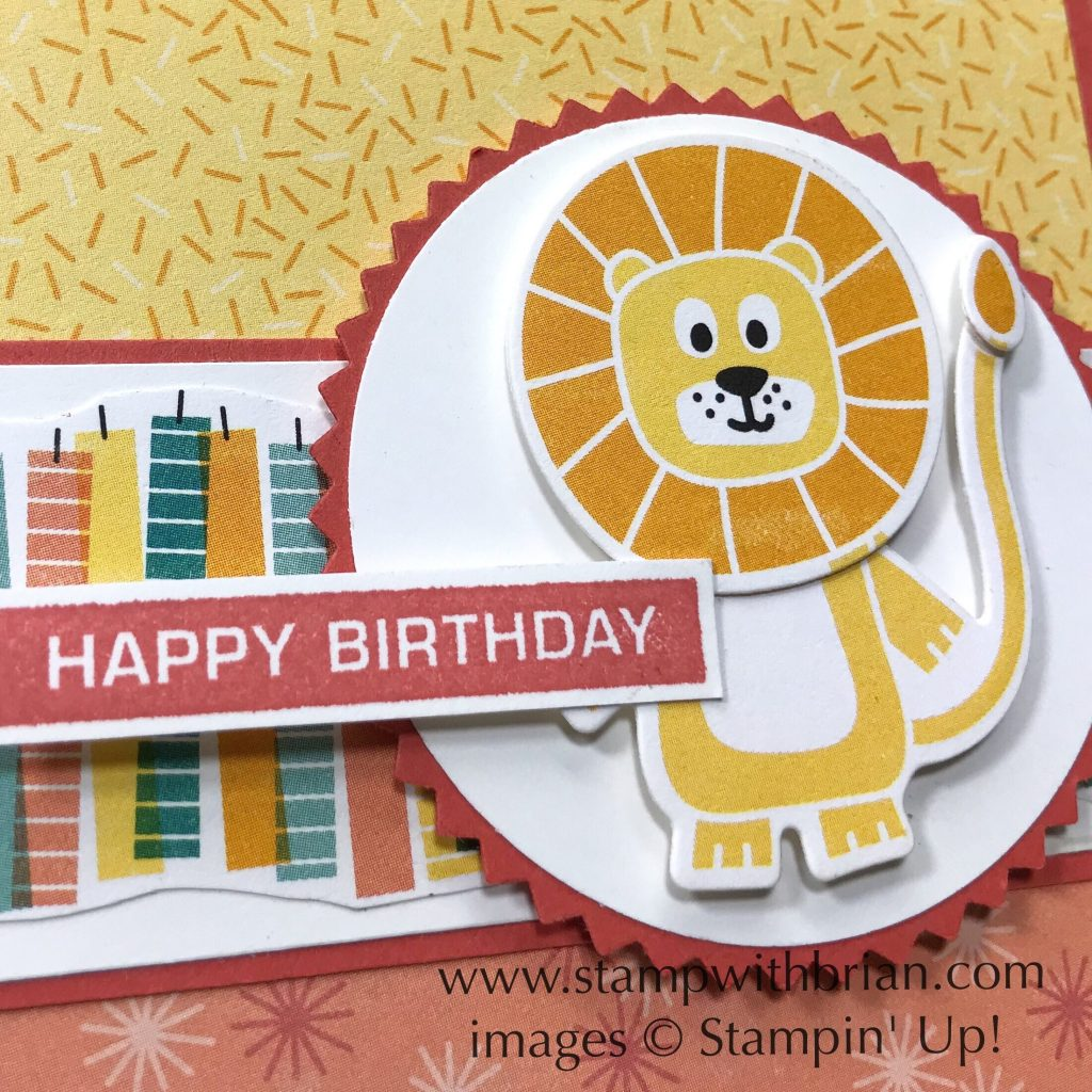 Label Me Bold, Birthday Bonanza, Stampin Up!, Brian King
