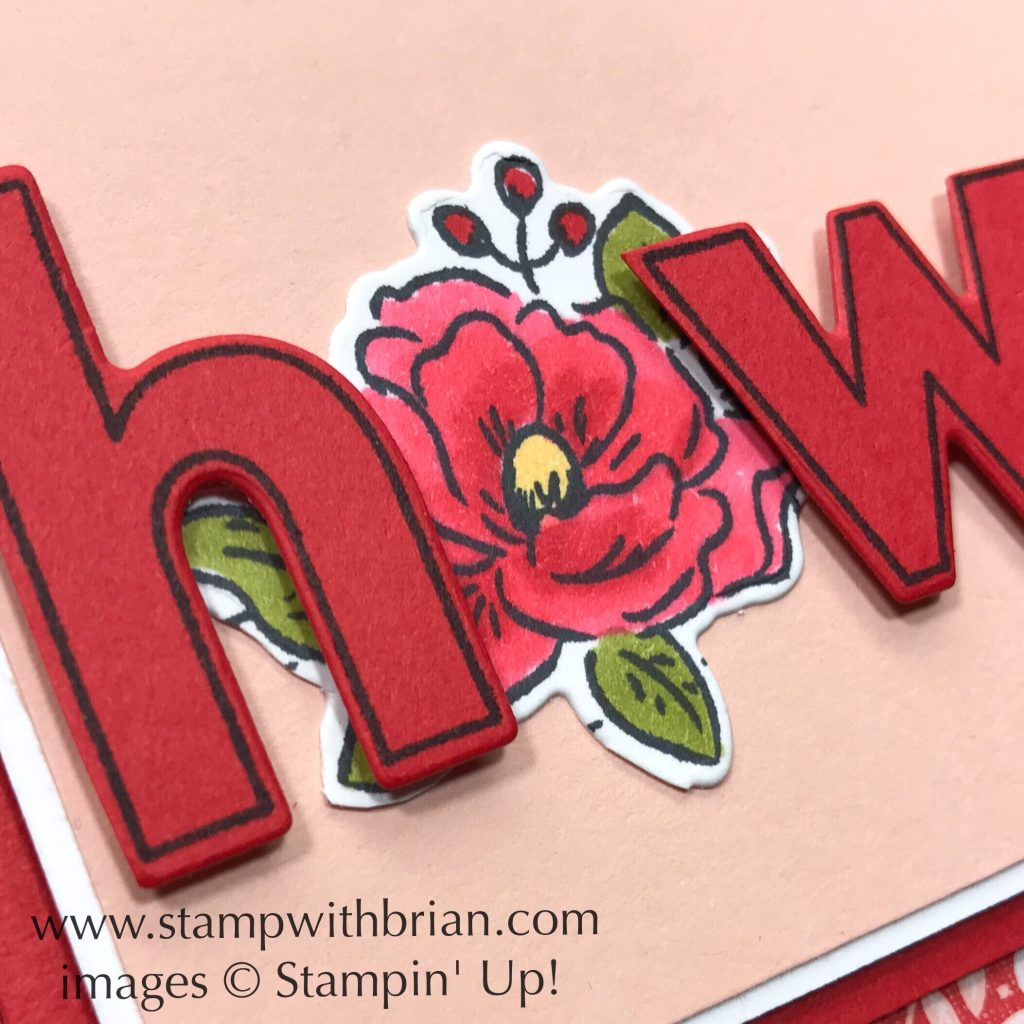Lined Alphabet, Happy Birthday to You, Kerchief Card Kit, Stampin Up!, Brian King