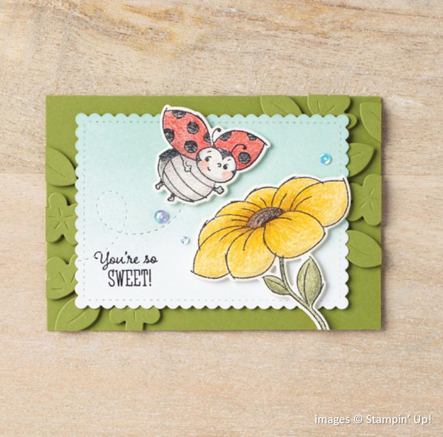 Little Ladybug, Ladybug Dies, Stampin Up!
