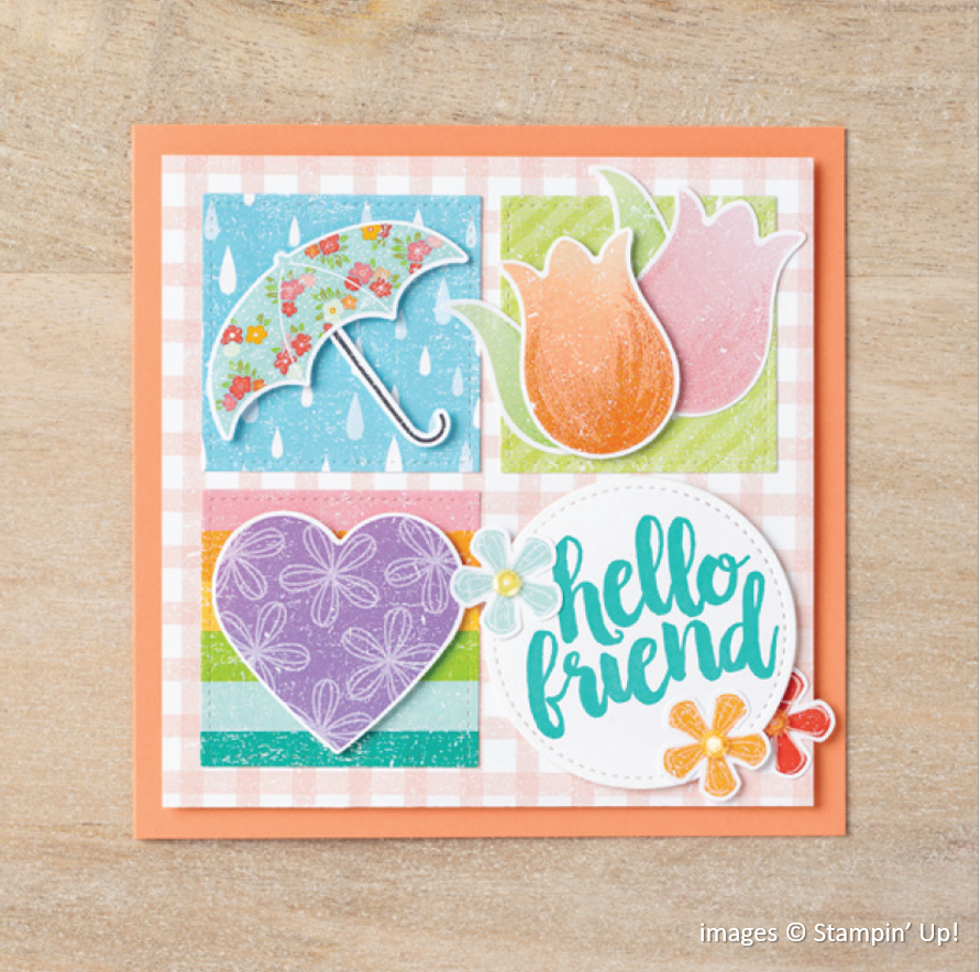 Pleased as Punch Designer Series Paper Sample, Stampin Up!