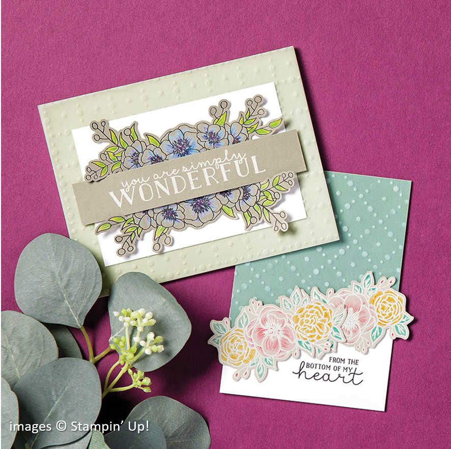 So Very Vellum Specialty, Stampin Up! samples