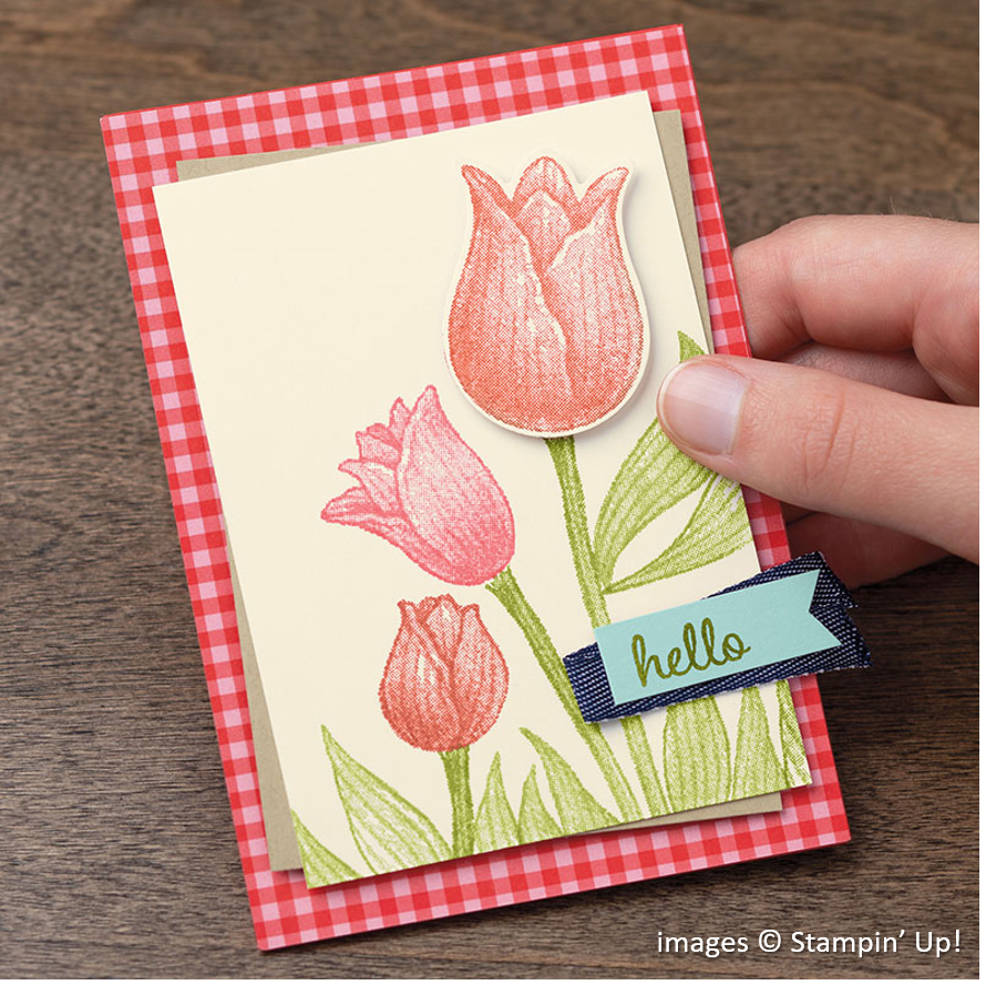 Timeless Tulips Stampin Up! Samples
