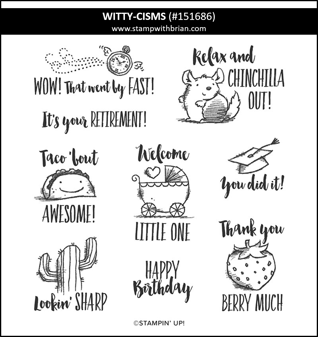 WItty-cisms, Stampin Up! 151686