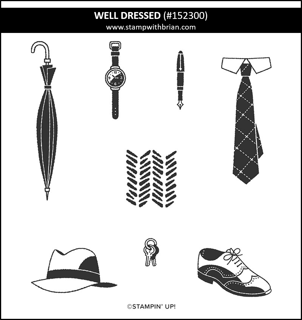 Well Dressed, Stampin Up! 152300