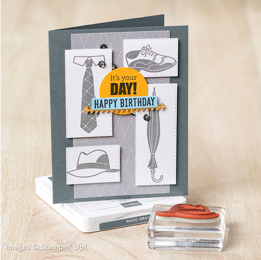 Well Dressed, Stampin Up! samples