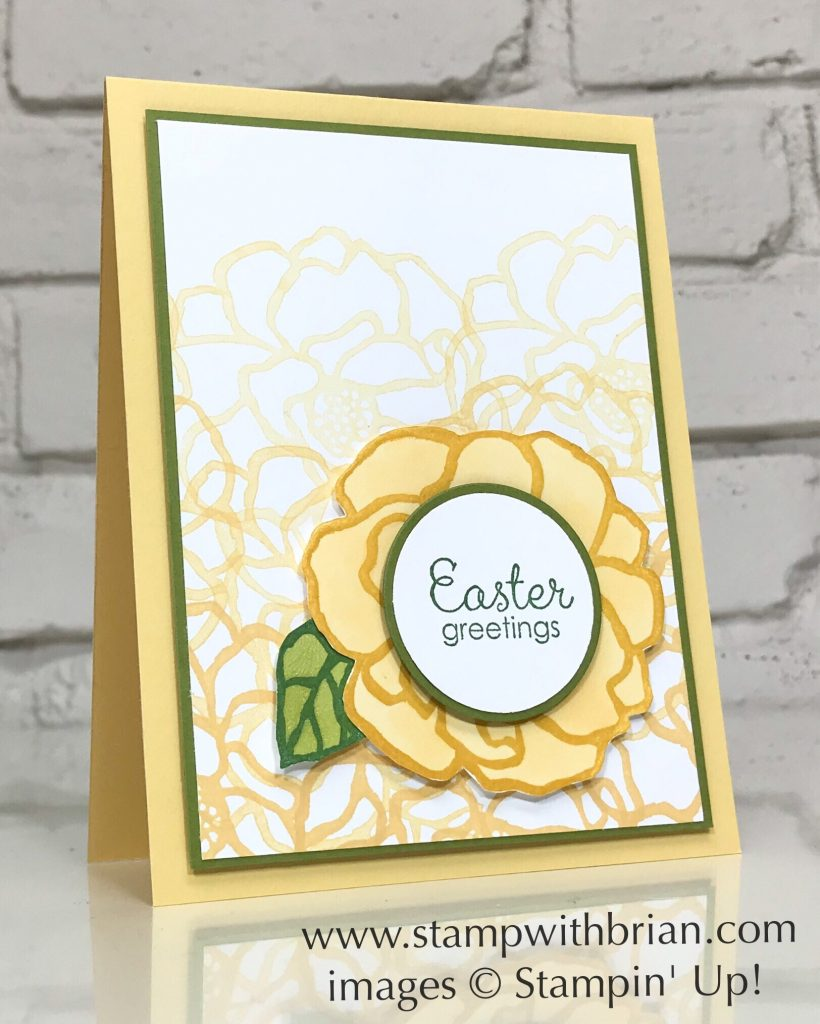 Beautiful Day, Fable Friends, Stampin Up!, Brian King, Easter card