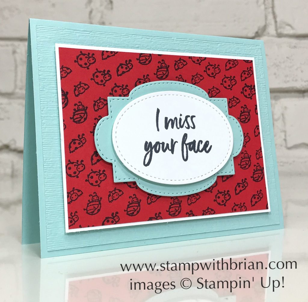 Little Ladybug, Tags in Bloom, Stampin Up!, Brian King