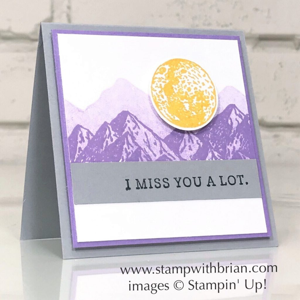 Mountain Air, Seriously the Best, Stampin Up!, Brian King