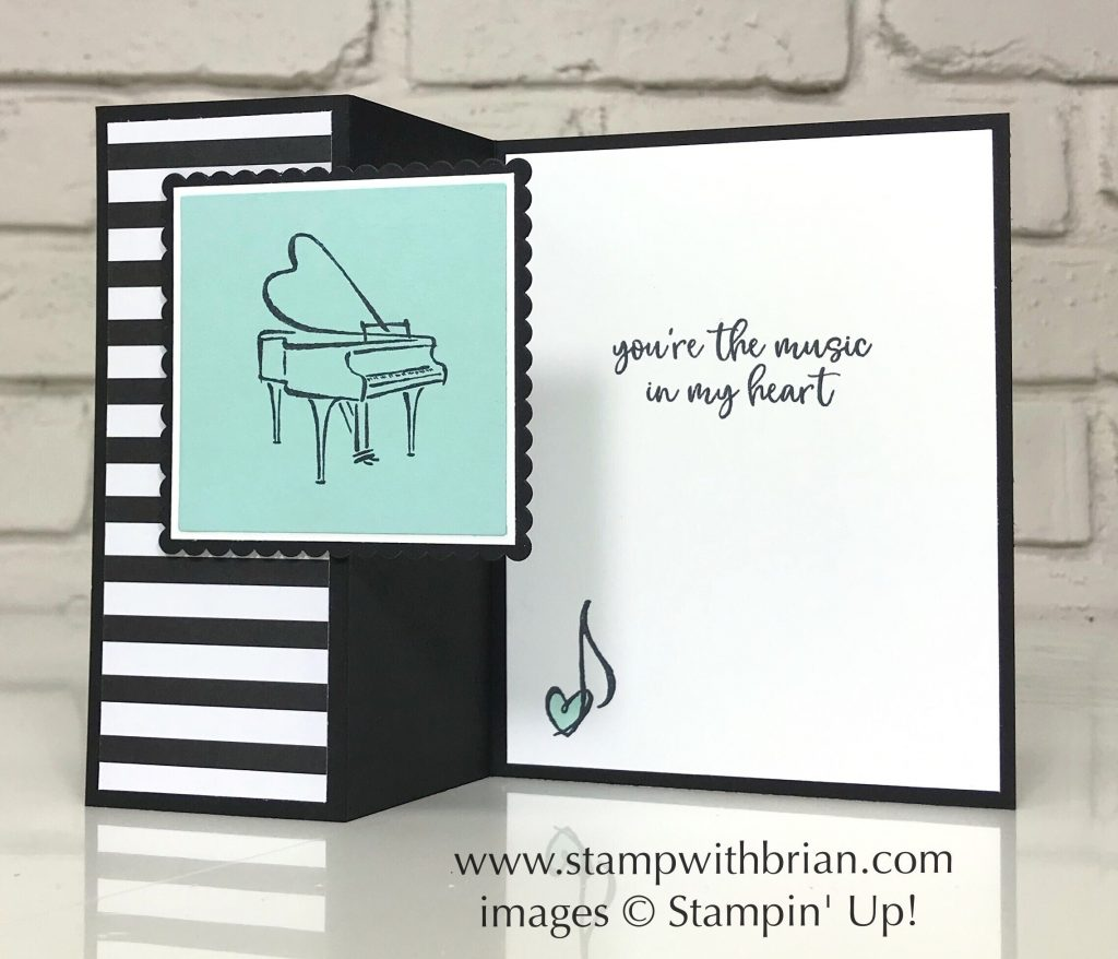 Music From My Heart, Stampin Up!, Brian King