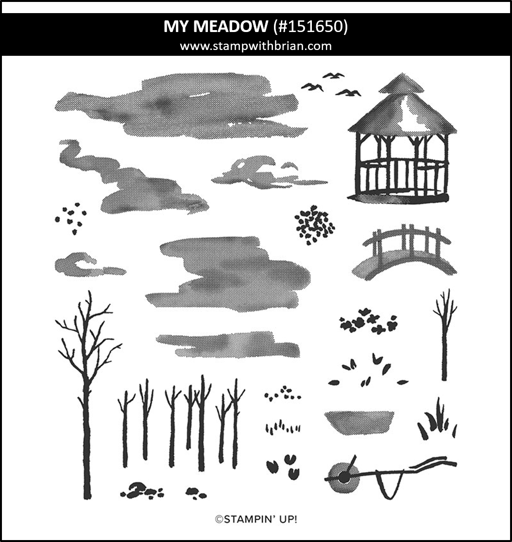 My Meadow, Stampin Up! 151650