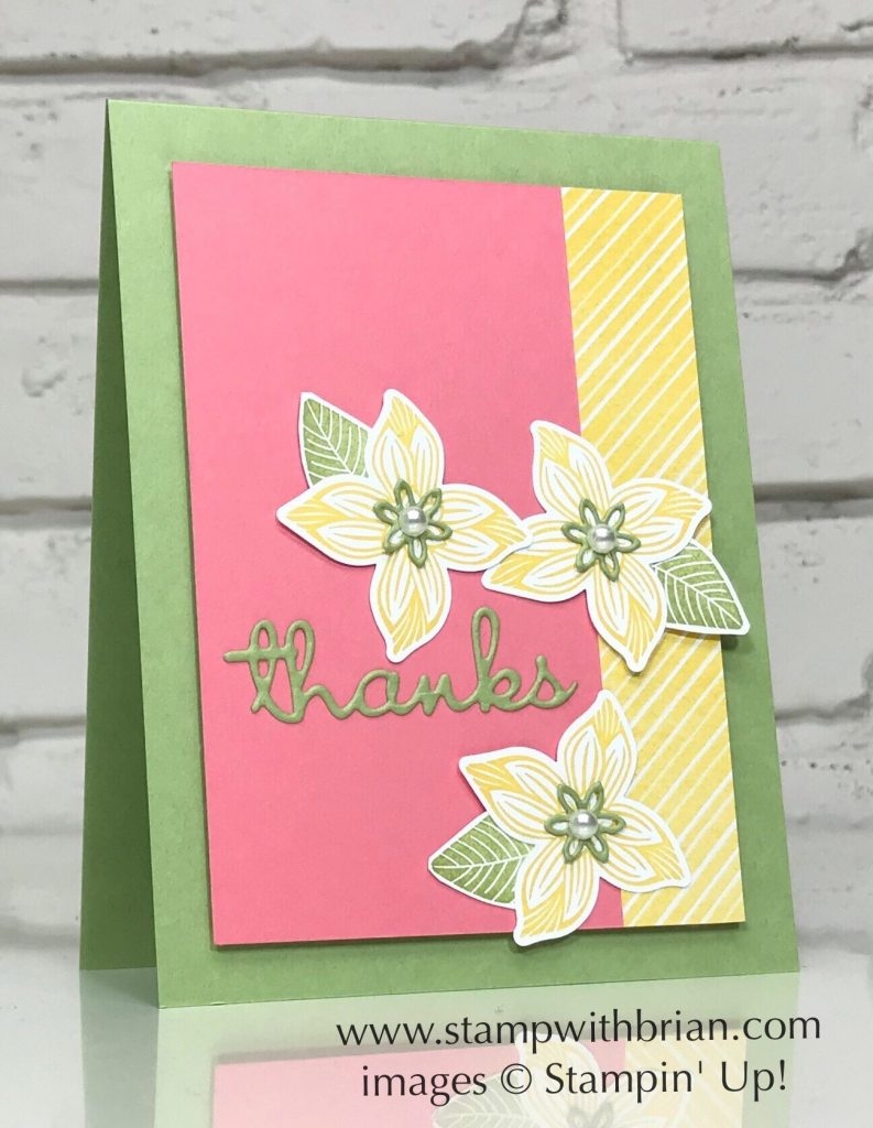 Pop of Petals, Four-Petal Flower Punch, Stampin Up!, Brian King