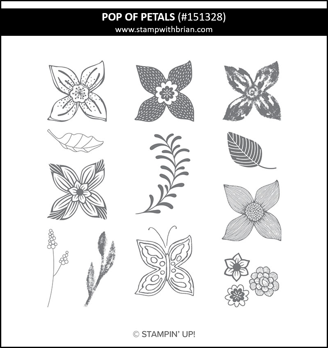 Pop of Petals, Stampin Up! 151328