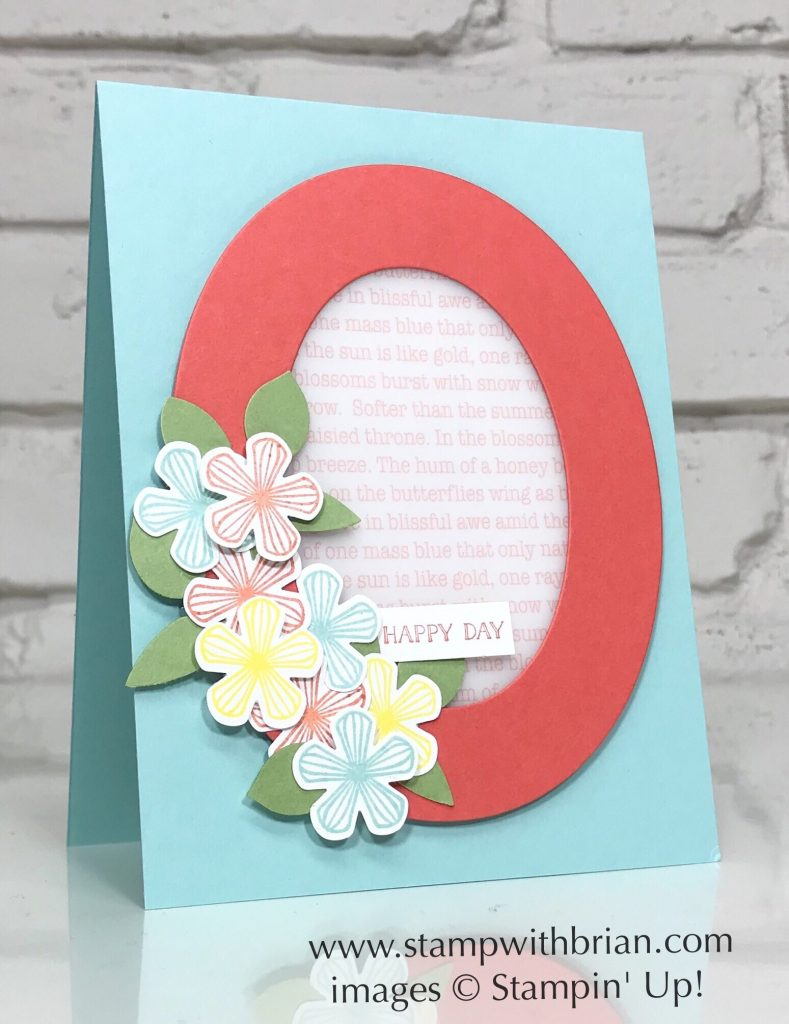 Thoughtful Blooms, Itty Bitty Greetings, Stampin' Up, Brian King
