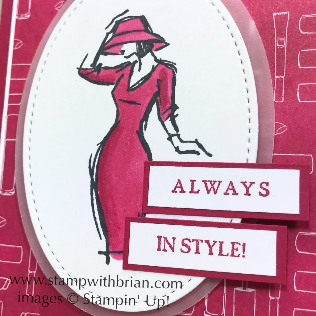 Beautiful You, Last a Lifetime, Stampin Up!, Brian King