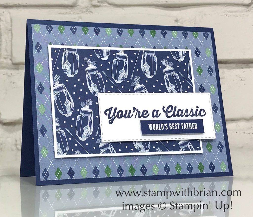 Geared Up Garage, Itty Bitty Greetings, Country Club Designer Series Paper, Stampin Up!, Brian King