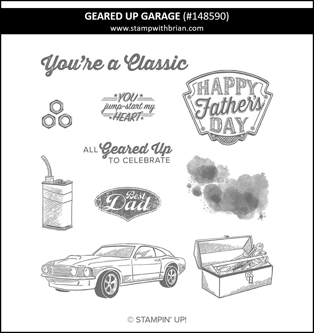 Geared Up Garage, Stampin Up! 148590