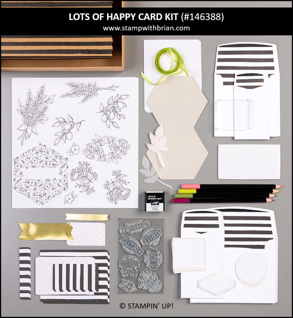Lots of Happy Card Kit, Stampin' Up! 146388
