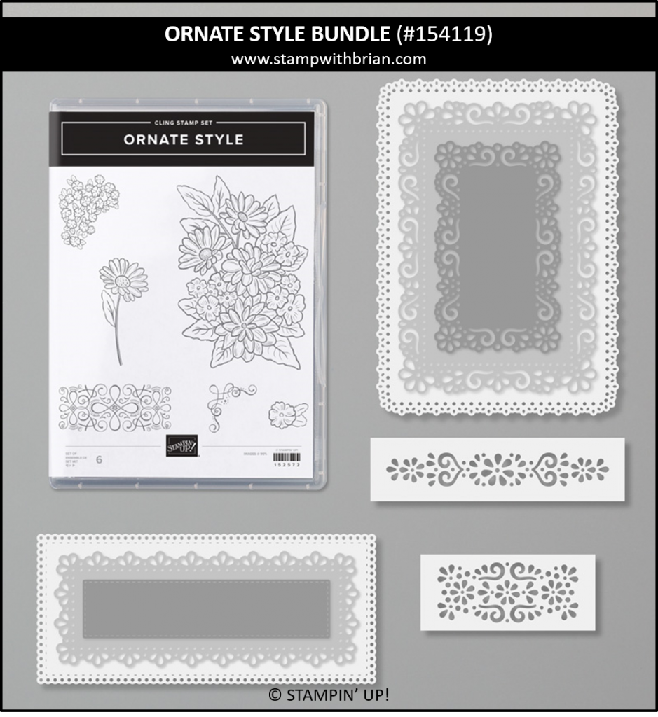 Ornate Style Bundle, Stampin Up! 154119
