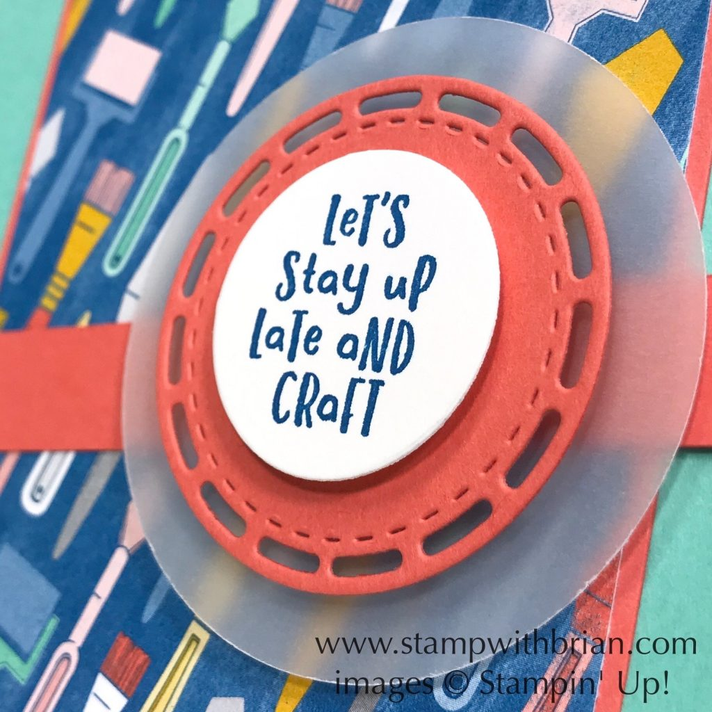 It Starts with Art, Stampin Up!, Brian King