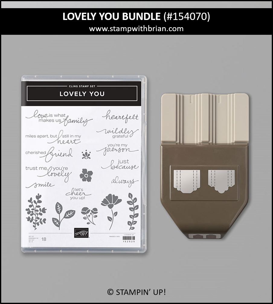 Lovely You Bundle, Stampin Up!, 154070