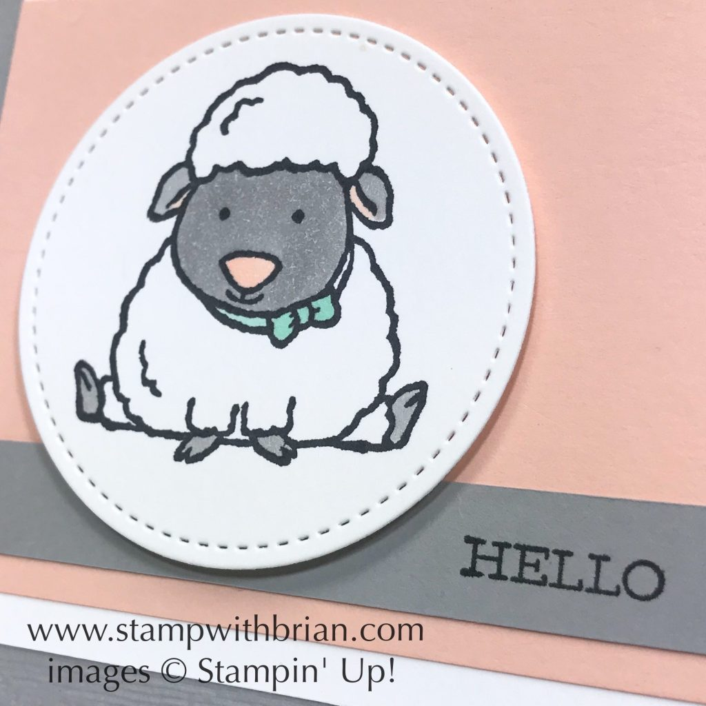 Welcome Easter, Free as a Bird, Stampin Up!, Brian King