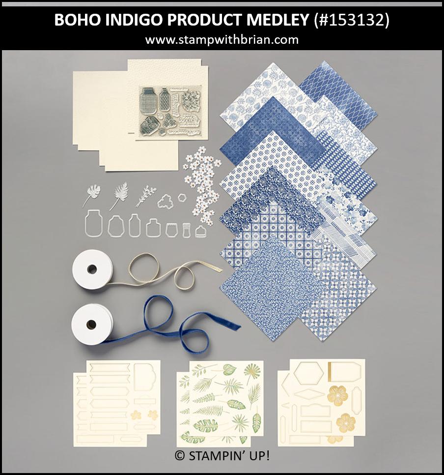 Boho Indigo Product Medley, Stampin Up! 153132