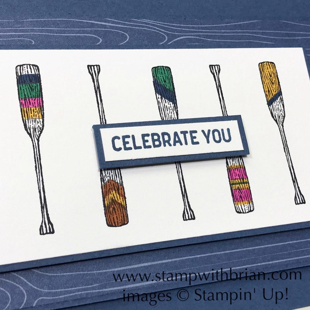 By the Dock, Itty Bitty Birthdays, Stampin Up!, Brian King