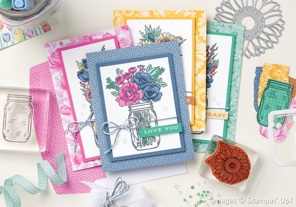 Flowers for Every Season Suite Collection, Stampin' Up!, Brian King