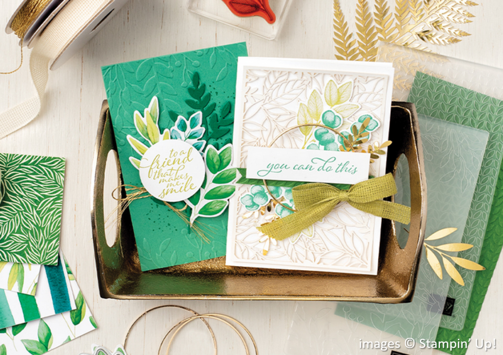 Forever Greenery Suite Collection, Stampin Up!, Brian King