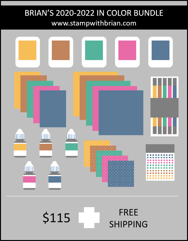 Brian's 2020-2022 In Colors Bundle, Stampin Up!