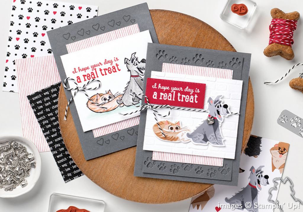 Playful Pets Suite Collection, Stampin Up!, Brian King