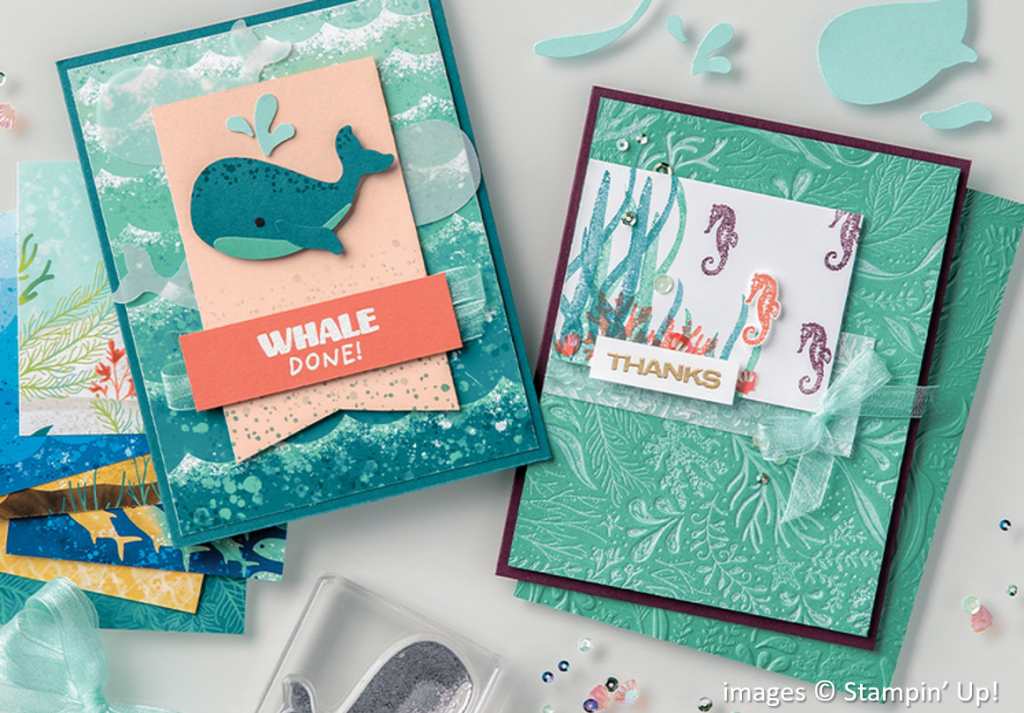 Whale of a Time Suite Collection, Stampin Up!, Brian King